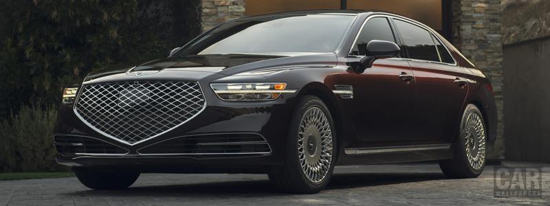 Cars wallpapers Genesis G90 US-spec - 2019 - Car wallpapers