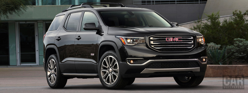 Cars wallpapers GMC Acadia All Terrain - 2018 - Car wallpapers