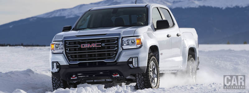 Cars wallpapers GMC Canyon AT4 Crew Cab - 2020 - Car wallpapers