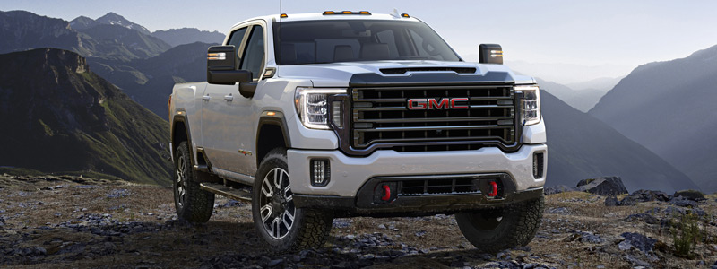 Cars wallpapers GMC Sierra 2500 HD AT4 Crew Cab - 2019 - Car wallpapers
