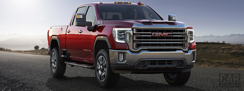 Cars wallpapers GMC Sierra 2500 HD SLT Crew Cab - 2019 - Car wallpapers
