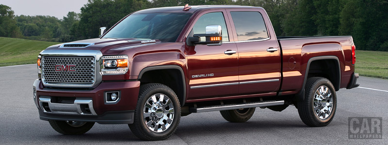 Cars wallpapers GMC Sierra 2500 HD Denali Crew Cab - 2016 - Car wallpapers
