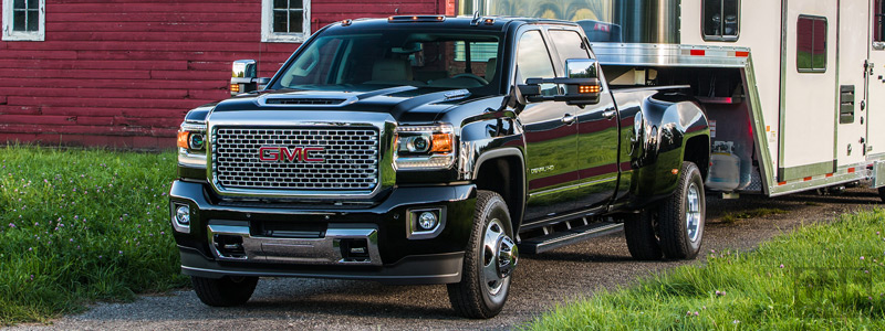 Cars wallpapers GMC Sierra 3500 HD Denali Crew Cab - 2016 - Car wallpapers