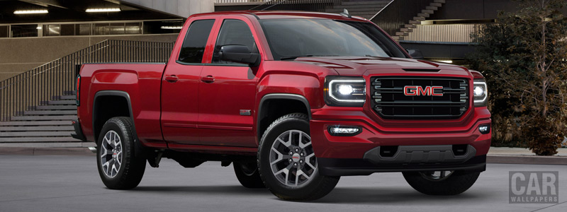 Cars wallpapers GMC Sierra 1500 All Terrain Double Cab - 2017 - Car wallpapers