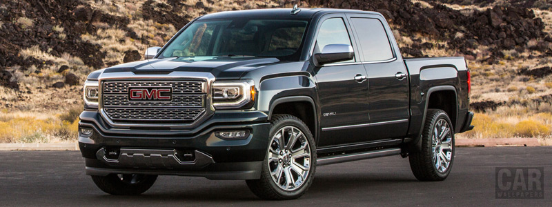 Cars wallpapers GMC Sierra 1500 Denali Crew Cab - 2017 - Car wallpapers