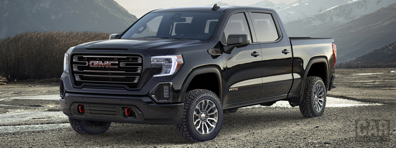 Cars wallpapers GMC Sierra AT4 Crew Cab - 2018 - Car wallpapers
