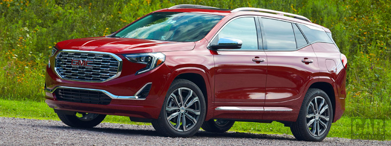 Cars wallpapers GMC Terrain Denali - 2018 - Car wallpapers