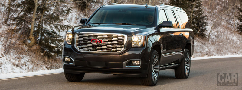 Cars wallpapers GMC Yukon XL Denali - 2018 - Car wallpapers