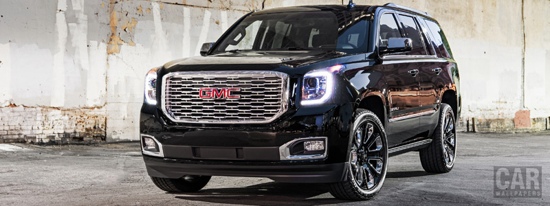Cars wallpapers GMC Yukon Denali Ultimate Black - 2018 - Car wallpapers