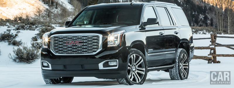 Cars wallpapers GMC Yukon Denali - 2018 - Car wallpapers