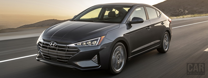 Cars wallpapers Hyundai Elantra Limited US-spec - 2018 - Car wallpapers