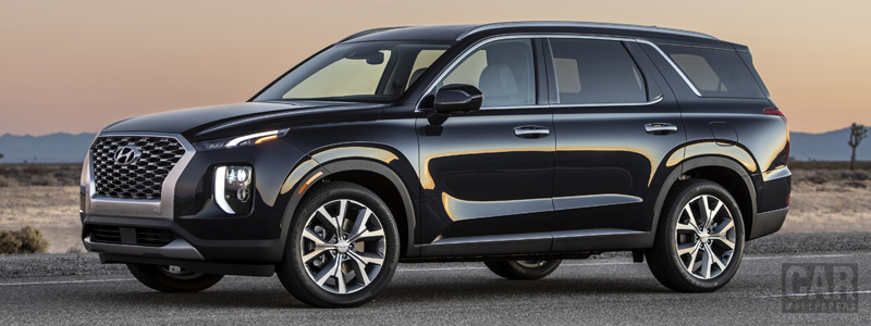 Cars wallpapers Hyundai Palisade US-spec - 2019 - Car wallpapers