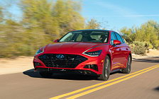 Cars wallpapers Hyundai Sonata Limited (Calypso Red) US-spec - 2019