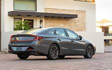 Cars wallpapers Hyundai Sonata Limited (Portofino Gray) US-spec - 2019