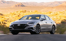 Cars wallpapers Hyundai Sonata Limited (Shimmering Silver Pearl) US-spec - 2019