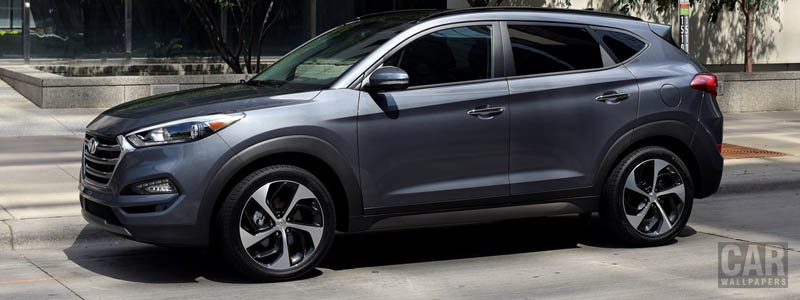 Cars wallpapers Hyundai Tucson US-spec - 2015 - Car wallpapers