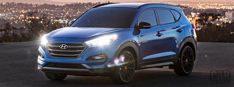 Cars wallpapers Hyundai Tucson Night US-spec - 2017 - Car wallpapers