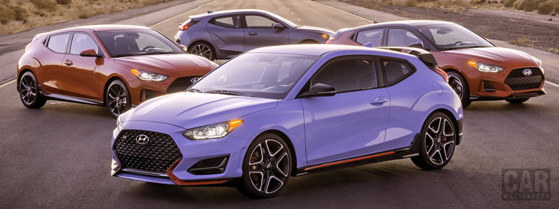 Cars wallpapers Hyundai Veloster Model Range US-spec - 2018 - Car wallpapers