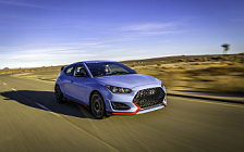 Cars wallpapers Hyundai Veloster N US-spec - 2018