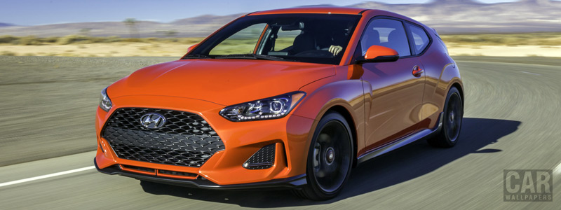 Cars wallpapers Hyundai Veloster Turbo R-Spec US-spec - 2018 - Car wallpapers