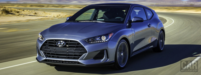 Cars wallpapers Hyundai Veloster US-spec - 2018 - Car wallpapers