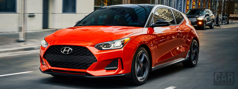 Cars wallpapers Hyundai Veloster Turbo US-spec - 2019 - Car wallpapers