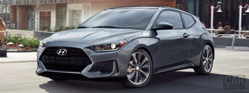 Cars wallpapers Hyundai Veloster US-spec - 2019 - Car wallpapers