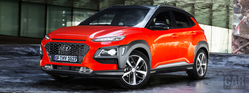Cars wallpapers Hyundai Kona - 2017 - Car wallpapers