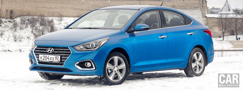Cars wallpapers Hyundai Solaris - 2017 - Car wallpapers