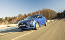 Cars wallpapers Hyundai Solaris - 2017