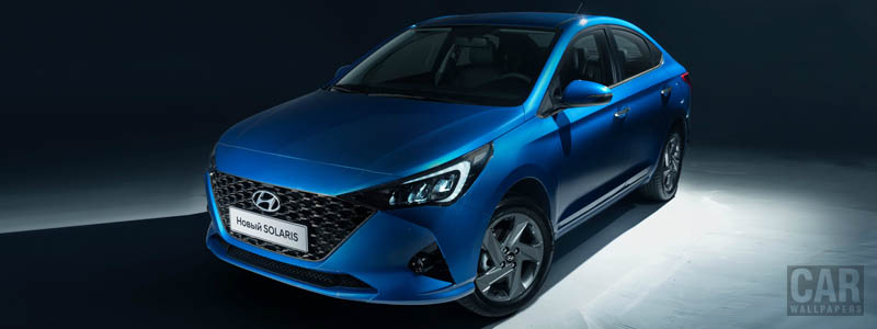 Cars wallpapers Hyundai Solaris - 2020 - Car wallpapers