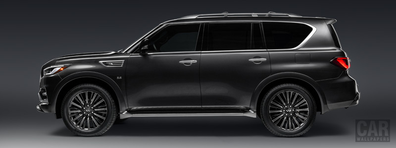 Cars wallpapers Infiniti QX80 5.6 Limited - 2018 - Car wallpapers