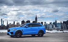 Cars wallpapers Jaguar F-Pace SVR US-spec - 2018