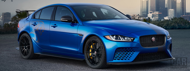 Cars wallpapers Jaguar XE SV Project 8 US-spec - 2017 - Car wallpapers