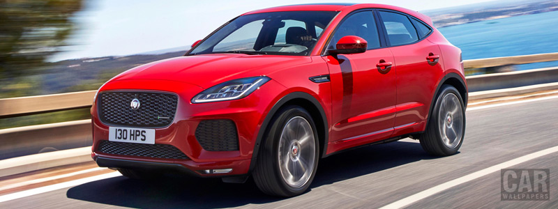 Cars wallpapers Jaguar E-Pace R-Dynamic First Edition - 2017 - Car wallpapers