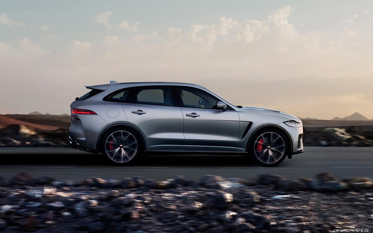 Cars desktop wallpapers Jaguar F-Pace SVR - 2018