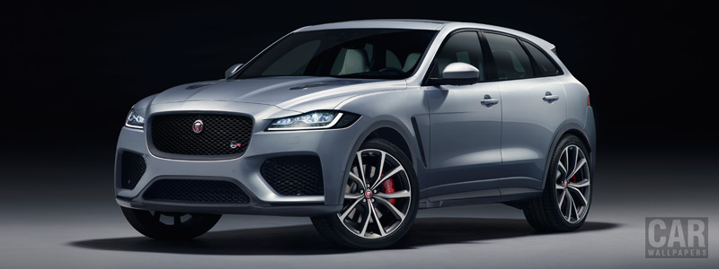 Cars wallpapers Jaguar F-Pace SVR - 2018 - Car wallpapers