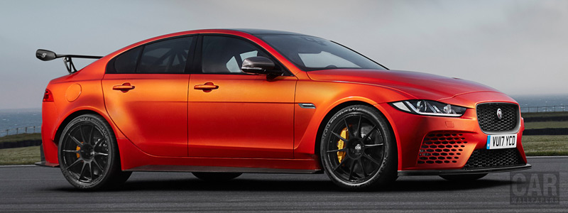 Cars wallpapers Jaguar XE SV Project 8 - 2017 - Car wallpapers