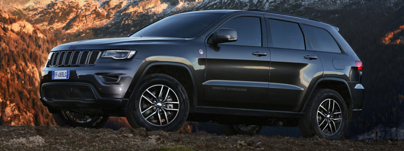 Cars wallpapers Jeep Grand Cherokee Trailhawk EU-spec - 2017 - Car wallpapers