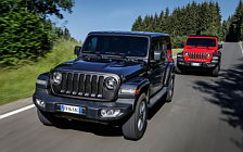 Cars wallpapers Jeep Wrangler Unlimited Rubicon and Jeep Wrangler Unlimited Sahara EU-spec - 2018
