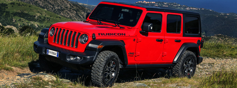 Cars wallpapers Jeep Wrangler Unlimited Rubicon EU-spec - 2018 - Car wallpapers