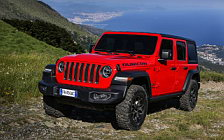 Cars wallpapers Jeep Wrangler Unlimited Rubicon EU-spec - 2018