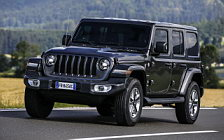 Cars wallpapers Jeep Wrangler Unlimited Sahara EU-spec - 2018