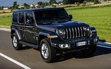 Cars wallpapers Jeep Wrangler Unlimited Sahara EU-spec - 2018