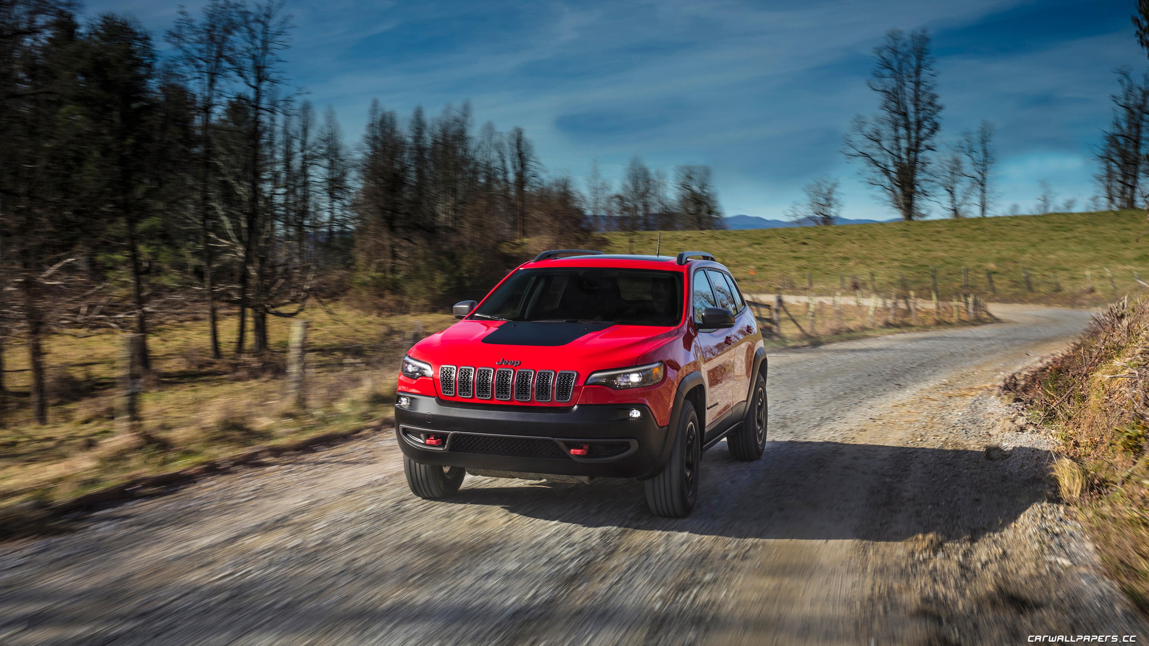 Cars desktop wallpapers Jeep Cherokee Trailhawk   2018