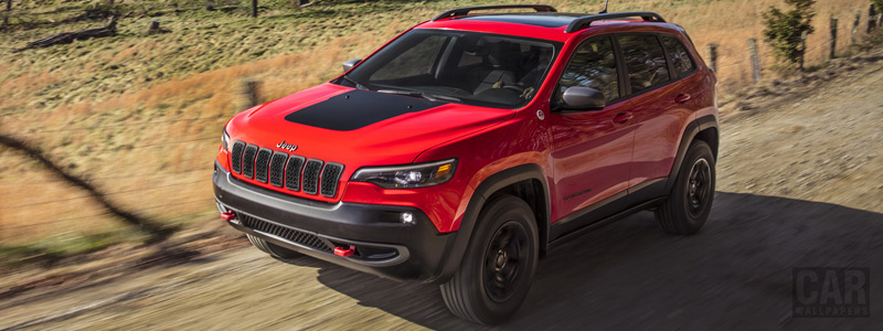 Cars wallpapers Jeep Cherokee Trailhawk - 2018 - Car wallpapers