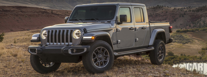 Cars wallpapers Jeep Gladiator Overland - 2019 - Car wallpapers