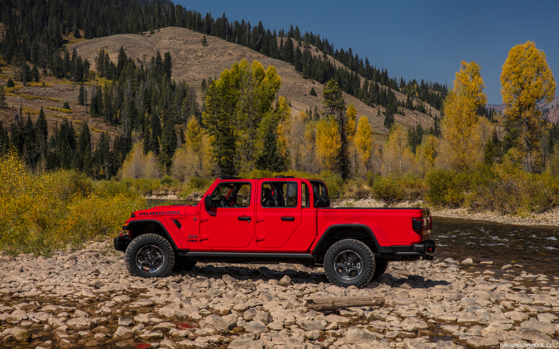 Cars desktop wallpapers Jeep Gladiator Rubicon   2019   Page 9