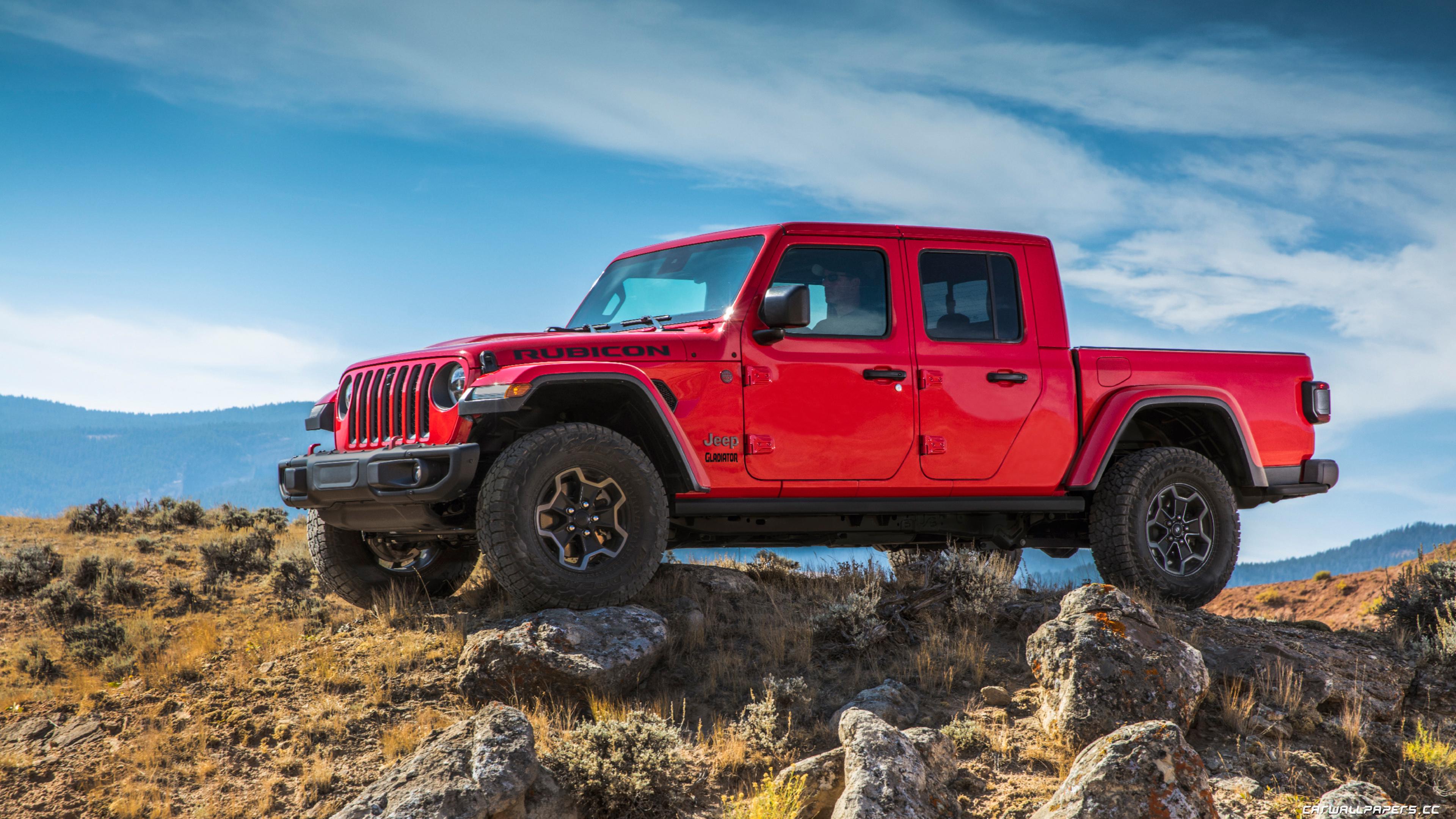 Cars desktop wallpapers Jeep Gladiator Rubicon   2019