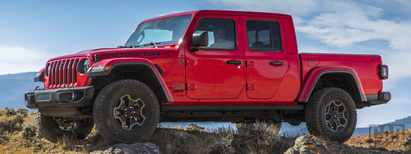 Cars wallpapers Jeep Gladiator Rubicon - 2019 - Car wallpapers